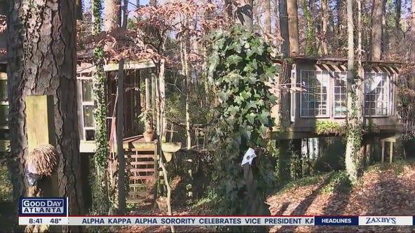 Travelers find peace in Atlanta treetops