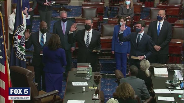 Sen. Warnock: 'I swore an oath to do one thing and that is to defend the Constitution'