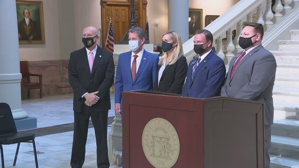 Gov. Kemp, first lady unveil new anti-human trafficking proposals