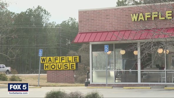 Toddler found wandering outside Clayton County Waffle House