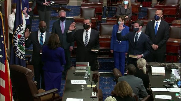 Sen. Ossoff sworn in as Georgia's first Jewish senator