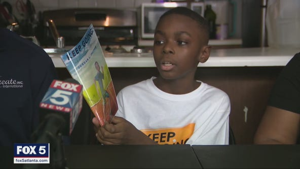 10-year-old author inspires readers to 'Keep Going' with new book