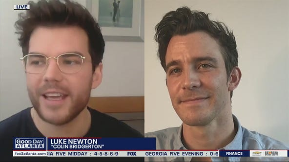 Luke Thompson and Luke Newton talk all things Bridgerton