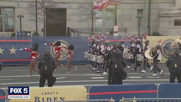 Howard band members still marching with pride after inauguration