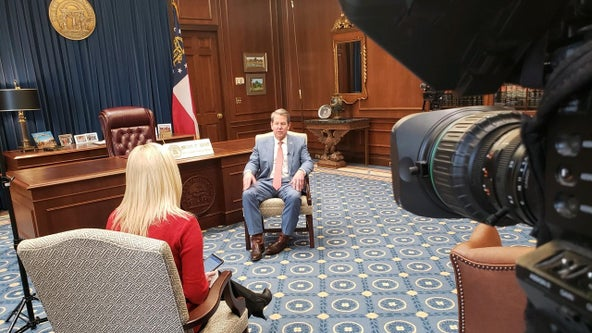 Gov. Kemp one-on-one discusses COVID-19 vaccine