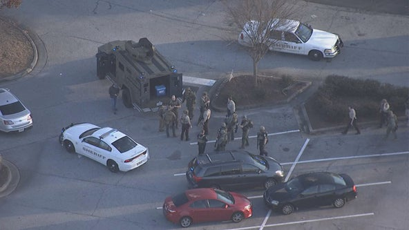 Alarm at Coweta County bank triggers large police presence