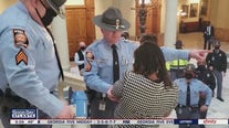 State lawmakers and state police clash at the Georgia Capitol