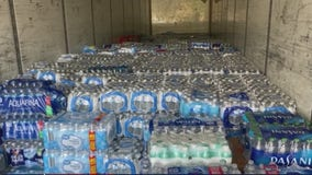 Henry County residents help donate water to Texans