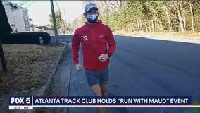 Atlanta Track Club pays tribute on anniversary of Ahmaud Arbery's death