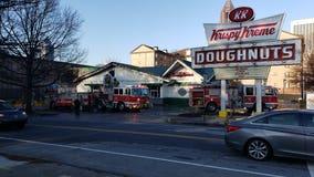 Historic Krispy Kreme on Ponce goes up in flames