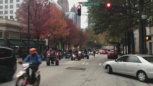 Atlanta identifies toughest challenge battling illegal motorcycle, ATV riding in the city