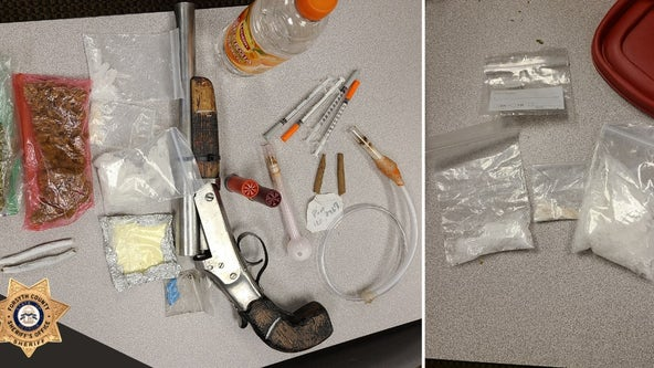 Tip leads to drug, weapon bust in Forsyth County