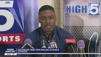 Malaki Starks makes his college commitment decision live on FOX 5
