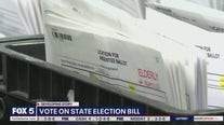 Vote expected on Georgia election bill