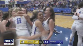 Last-second shot sends Fannin County girls back to state finals