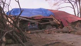 Retired police officer barely escapes collapsing Bartow County home during severe storm