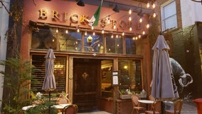 Celebrating St. Patrick's Day at Decatur fixture Brick Store Pub