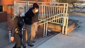 Clayton police release video of homicide suspect in custody