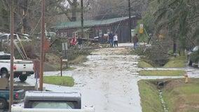Storm damage cause school closures in north Georgia