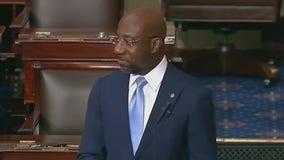 Sen. Warnock delivers 'sermon' on Senate floor