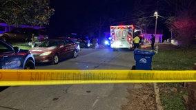 Dead man found shot in burning car on NW Atlanta street