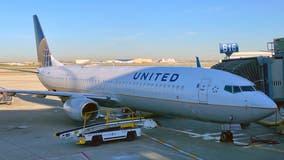 United Airlines flight diverted after man allegedly bites passenger's ear, police say