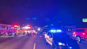 Marietta PD: 3 involved in I75 crash hospitalized, 1 with life-threatening injuries