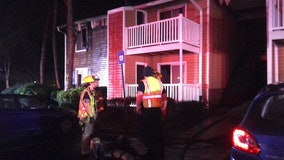 Gwinnett firefighters put out flames at Norcross apartment
