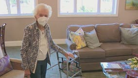 Decatur resident receives second COVID-19 vaccine dose on her 103rd birthday