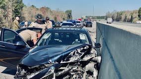 Officials: Chase in Crisp County leads to wreck, arrest
