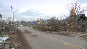 Cleanup continues after tornado leaves 'devastation' in Newnan