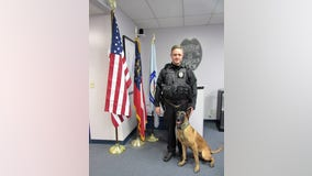 Conyers police get donation of K9 body armor