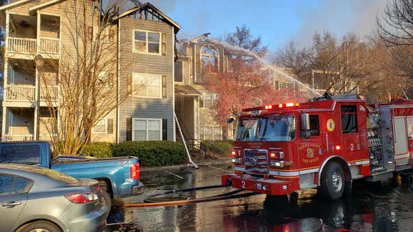 Brookhaven apartment building destroyed after 2 fires in 24 hours