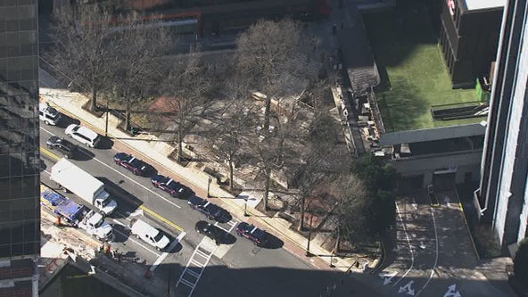 Police investigating alleged shooting at Midtown Atlanta business