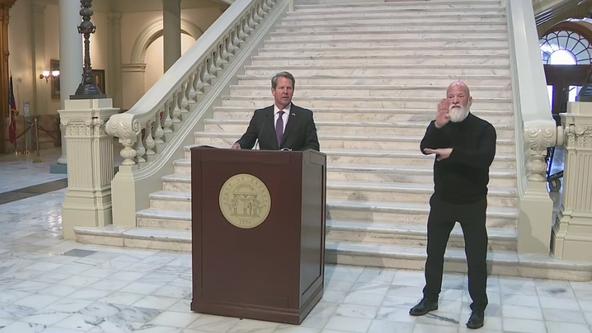 'Georgia will not lock down or impose statewide mask mandates,' Gov. Kemp says