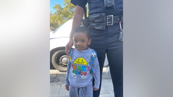 Savannah police quickly reunite missing child with guardian