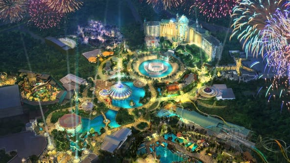 Construction resumes on Universal Orlando's Epic Universe