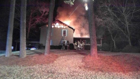 Woman killed in late-night Gwinnett County house fire