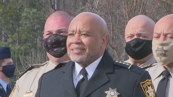 Gwinnett County's first Black sheriff sworn into office