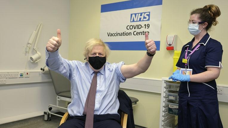 British PM Boris Johnson has the Covid-19 Vaccine