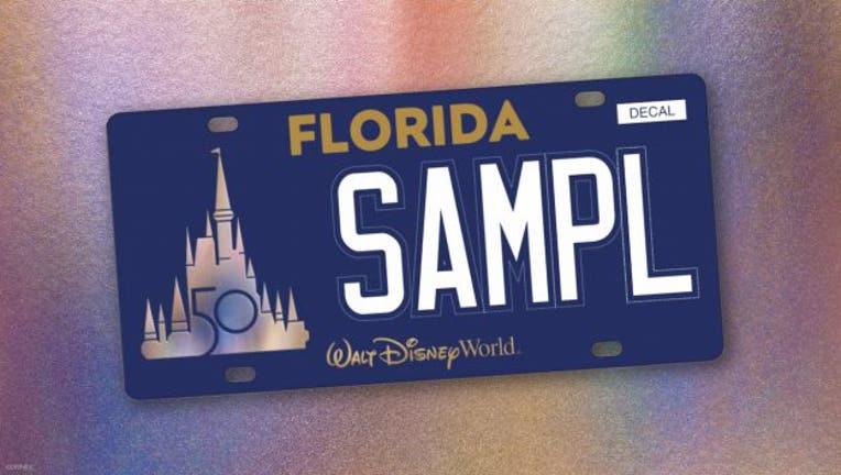 WALT DISNEY WORLD license plate 032321