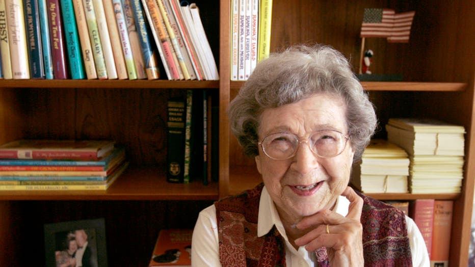 Cleary at home in Carmel Valley.Beverly Cleary, the author of such revered children®s books as the Ramona series, the Ralph S. Mouse series and the Henry Huggings series, turned 90 years this April and over the next few months her books are being reissue