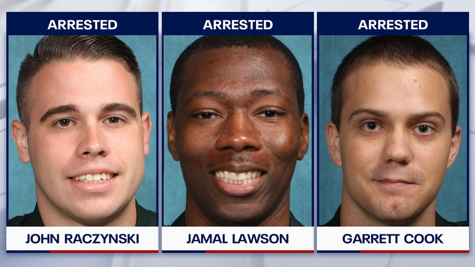 polk 3 deputies arrested tampering evidence