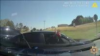 Forsyth County pursuit and arrest