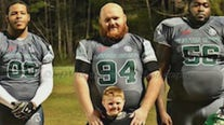 Georgia father shot during semi-pro football game