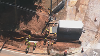 Road re-opens after gas leak in Cobb County