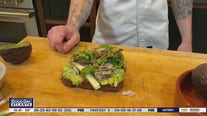 Chef Mike Parhm shares his crab and avocado toast recipe