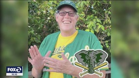 Woman mourns loss of sister, an avid Oakland A's fan, to COVID