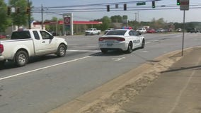Woodstock Police take part in 'Distracted Driving Awareness Month'