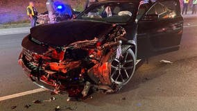 Sandy Springs police officer struck by DUI suspect during traffic stop